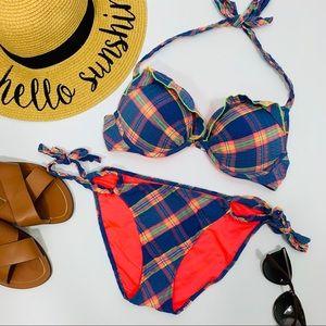 Victoria's Secret Plaid Push-up Bikini 2 Piece